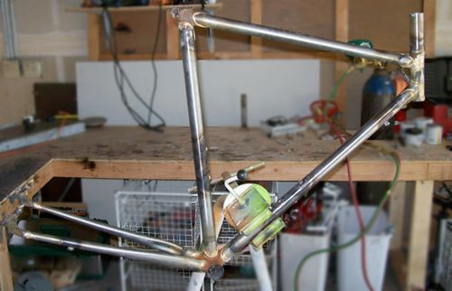 Tim Sanner Touring Frame: In Progress!